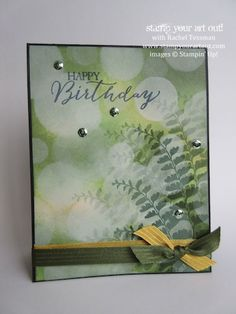 Butterfly Basics stamp set & sponged on ink can create beautiful pages & cards – the Bokeh technique… #stampyourartout #stampinup - Stampin' Up!® - Stamp Your Art Out! www.stampyourartout.com