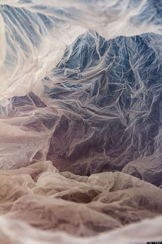 Plastic Bag Landscapes The last time that you saw a plastic bag abandoned on the street, did you think of it as art? Vilde Rolfsen turns trash into. Backlight Photography, Sunset Photography, Landscape Photography, Photography Ideas, Photography Composition, Mountain Photography, Photography Aesthetic, Vintage Photography, Wedding Photography