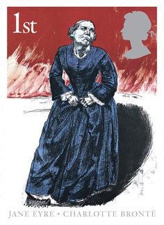 Jane Eyre: Charlotte Bronte Come To Me #SpecialStamp from 2005 #RoyalMail
