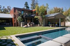 Dwell on Design Exclusive House Tour: Secret House in Pacific Palissades, California by Kovac Architects