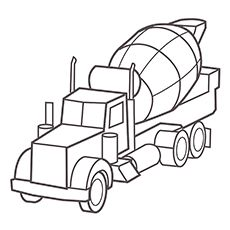 Cement Construction Truck Coloring Pages Cars Coloring Pages Truck Coloring Pages Free Coloring Pages