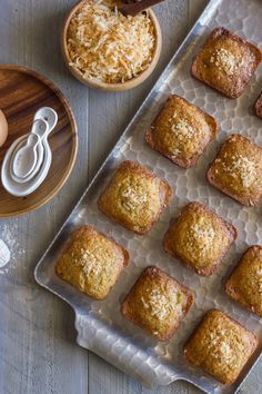 Whole Wheat Toasted Coconut Banana Muffins - made with white whole wheat flour and coconut oil. So good!