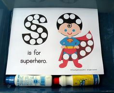 Ss is for Superhero (from The Fantastic Five) Alphabet review