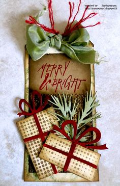 Yaya Scrap: Christmas Tag