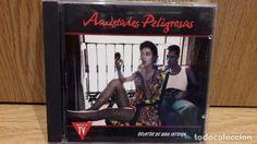 AMISTADES PELIGROSAS. RELATOS DE UNA INTRIGA. CD / EMI - 1991. 10 TEMAS / CALIDAD LUJO.