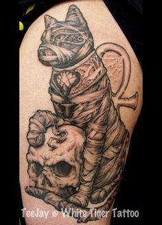 Tattoo ideas on pinterest egyptian tattoo tattoo for Egyptian mummy tattoos