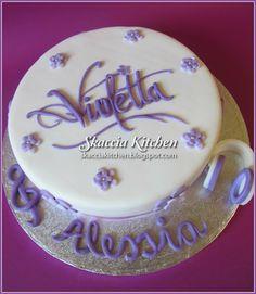 SKACCIA KITCHEN: Violetta Cake