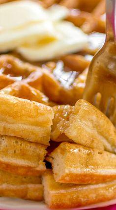 Buttery Golden Buttermilk Waffles