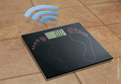 Wi-Fi weight scale with fingerprint readers