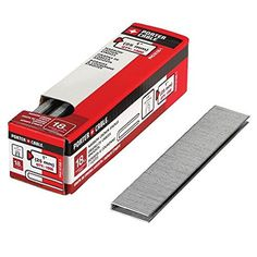 PORTERCABLE PNS181001 1Inch 18 Gauge Narrow Crown Staple 1000Pack -- Continue to the product at the image link. (Note:Amazon affiliate link)