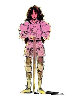 proud disaster lesbian ( Knight Drawing, Sword Drawing, Knight Art, Female Knight, Lady Knight, Character Concept, Character Art, Sword Reference, Sword Poses