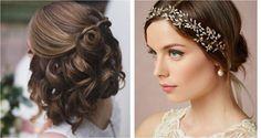 Ideas para novias con media melena