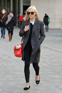 Pin for Later: Fearne's Fashion Parade: Everything Ms Cotton's Worn to Work in 2014 Fearne Cotton Street Style — January 2014 Preppy Fall Fashion, Winter Fashion, Work Fashion, Fearne Cotton, Gamine Style, Sartorialist, Cotton Style, Preppy Style, Work Casual