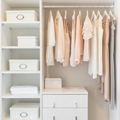We're getting our closet in order with a few tricks of the trade that are sure to simplify your life and make getting dressed an even happier occasion.