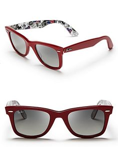 Ray-Ban Inside London Print Wayfarer Sunglasses | Bloomingdale's
