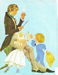 H. C. Andersen (ilustração de Janet e Anne Grahame Johnstone in A Book of Fairy Tales, 1977)