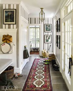 How One Fashion Designer Made the Most of Low Ceilings — Elle Decor