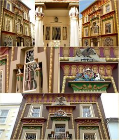 The Egyptian House, Penzance Cornwall.