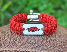 Razorbacks bracelet