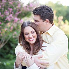 Sweet engagement photo.