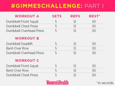 Take the #Gimme5Challenge to Strengthen Your Body with Just Five Basic Moves | Women's Health Magazine