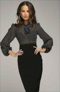 cefb2dc4671 111 Inspired Polka Dot Dresses Make You Look Fashionable
