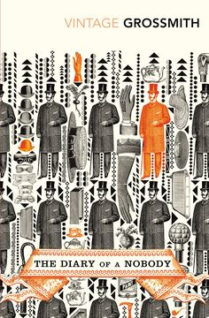 The Diary of a Nobody - Grossmith - Vintage Classics #book #covers #jackets #portadas #libros