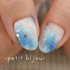 Winter frost nails 樹霜 by petit bijou #ネイル #ネイルサロン #ネイルアート #ネイルデザイン #アート #ジェルネイル #作品 #petitbijou_nail #nail #nailsalon #nailart #artworks #art #gelnails #instanails #樹霜 #氷 #冬