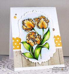 Tulips Digital Stamp Set