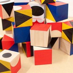 ShapeMaker Wooden Blocks