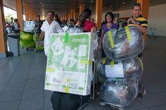 Limitan equipaje para viajes Miami-La Habana