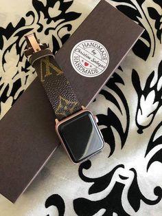 37351577b4a1 Handmade Louis Vuitton Apple Watch Band Series 1 2 3 146mm