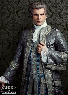 Stanley Weber as Le Comte St. Germain   'Outlander' Season 2: First Look at 5 New Character Portraits