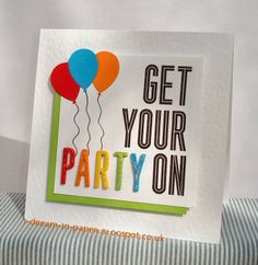I Dream in Paper: Get your party on & manage your scraps