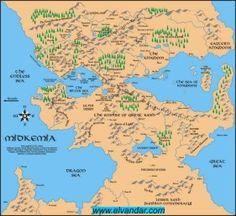Midkemia, of Raymond Feist's Riftwar Saga.