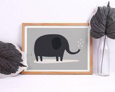 Nasze plakaty będą niebanalną dekoracją każdego wnętrza. Elephant Poster, Baby Shower Gifts, Kids Rugs, Gift Ideas, Home Decor, Decoration Home, Kid Friendly Rugs, Room Decor, Shower Gifts