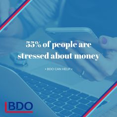 Did you know that 55% of Canadians are stressed about money? Are you feeling financially stressed?