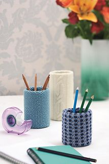 Hot Desk by Jane Burns - Let's Knit September issue, on sale now!