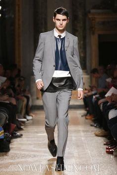 Les Hommes Menswear Spring Summer 2014 Milan - Ben Lark - NOWFASHION