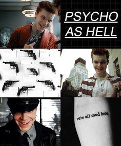 crazy, Gotham, and handsome image