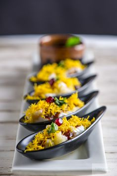 """nitinkapoorphotography: """"Indian Street Food served here as a canape """""""