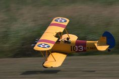 Took this photo of a radio controlled Stearman at Warbirds Over Iowa