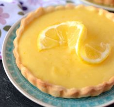 Lemon Curd Pie, Diy Food, No Bake Cake, Tart, Food To Make, Food And Drink, Favorite Recipes, Sweets, Healthy Recipes