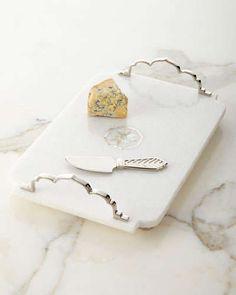 H7TYQ Michael Aram Palace Cheese Board com faca