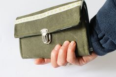Geldbörse, Portemonnaie, Purse, Seesack von bwilluweit auf Etsy