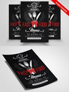 Fast Food Resturant Flyer
