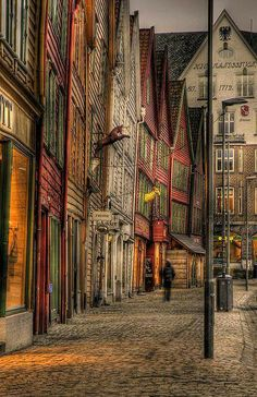 I HAVE TO GO TO BERGEN, NORWAY.
