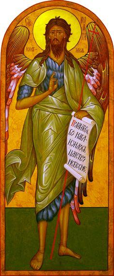 SJTB-Official-for-web.gif (745×1800) Greek Icons, Church Interior, Saint John, John The Baptist, Orthodox Icons, Jesus Christ, Painting, Art, Saints