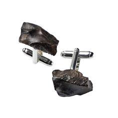 Genuine Triceratops Dinosaur Fossilized Teeth Cufflinks by Mancornas on Etsy