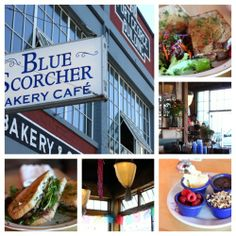 Astoria, Oregon «  Blue Scorcher is a great place for breakfast & right across the street from #VintageHardware.